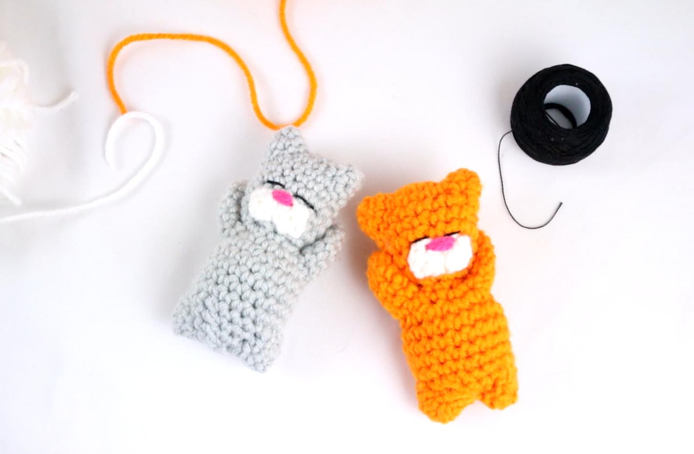 free cat amigurumi pdf pattern