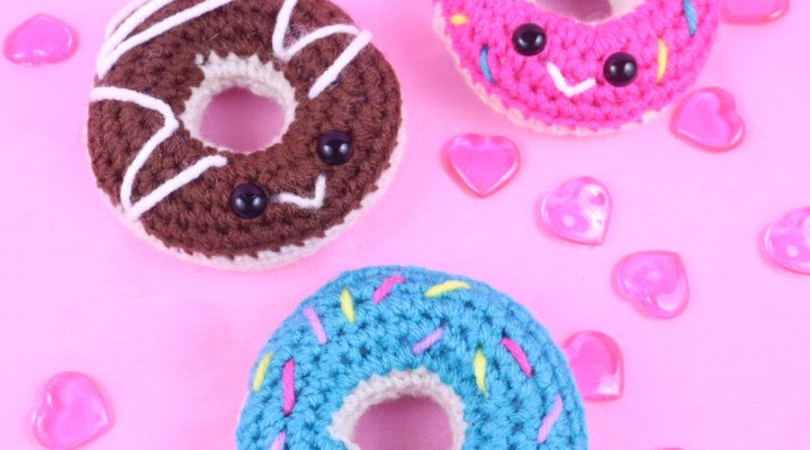 Donut amigurumi crochet pattern