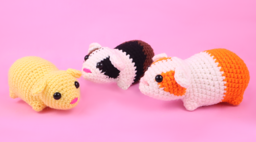 Guinea Pig Amigurumi Crochet Pattern PDF Download